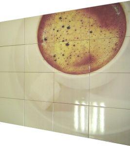 Дизайн кухни с фотоплиткой на фартуке
